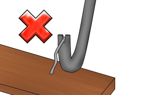 no nail pulling, no sign, nail pulling, forbidden sign, ban sign,