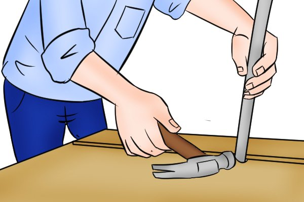 prying objects apart, prying objects, pry bar,