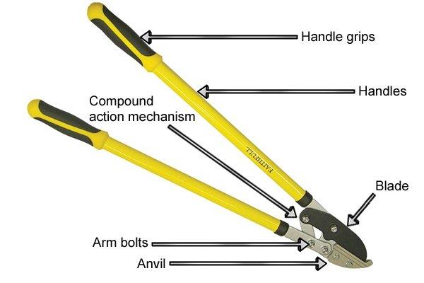 lopper, garden lopper, gardening tools, garden pruning tools, pruning tools, prune,