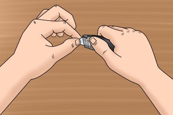 sharpen pocket knife, replace pocket knife blade, replacement pocket knife blade, replacement blade, blade, blades,