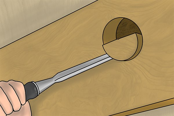 hole saws wonkee donkee DIY guide how to use a hole saw