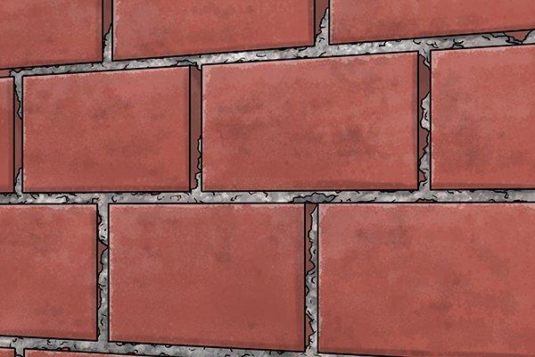 Manual coating sprayers hand-held render tyrolean roughcast pebbledash Flickatex machine Damaged wall