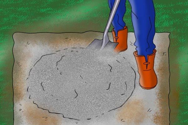 Manual coating sprayers hand-held render tyrolean roughcast pebbledash Flickatex machine Hand mixing cement