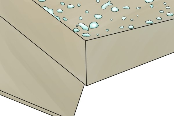 Moisture-resistant MDF, medium density fibreboard, manufactured board