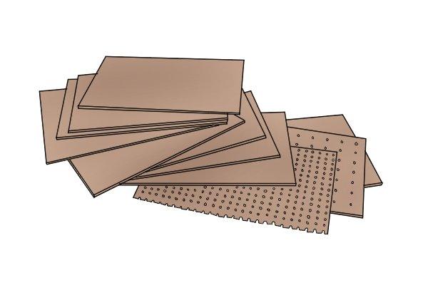 Hardboard, MDF, medium density fibreboard, manufactured boards, wood sheet materials