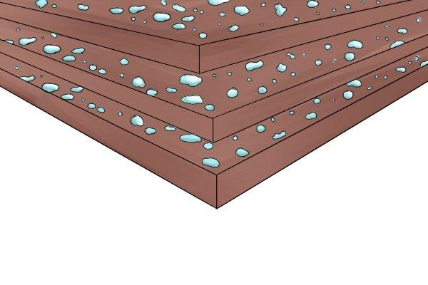 Moisture-resistant MDF, exterior MDF, medium density fibreboard, wood sheet products