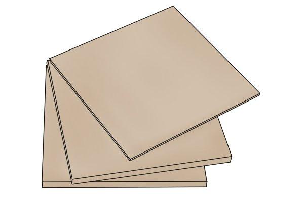 MDF, smooth surface, medium density fibreboard, manufactured wood sheets
