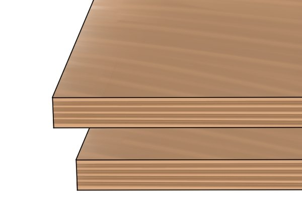 Plywood, manufactured board, sheet products