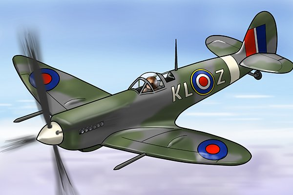 The De Havilland Mosquito flown in the Second World War was made partly of plywood