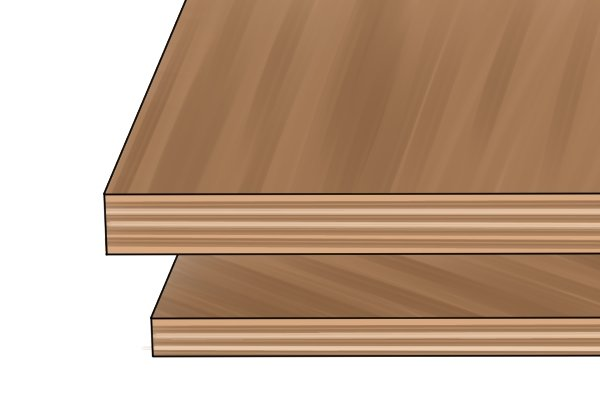 Softwood plywood is used for construction and industrial purposes