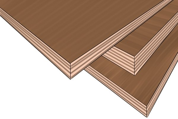 Hardwood plywood is used for walls and floors among many other applications
