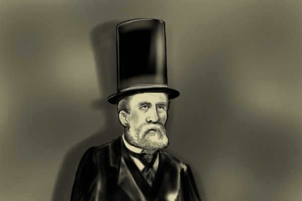 Stovepipe hats were made with flexible plywood