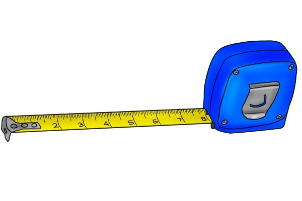 What sizes of plywood are available; tape measure