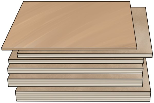 Different thicknesses of plywood; plywood sizes; dimensions of plywood