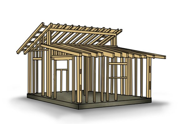 Roof trusses, softwood, strength, timber, wood