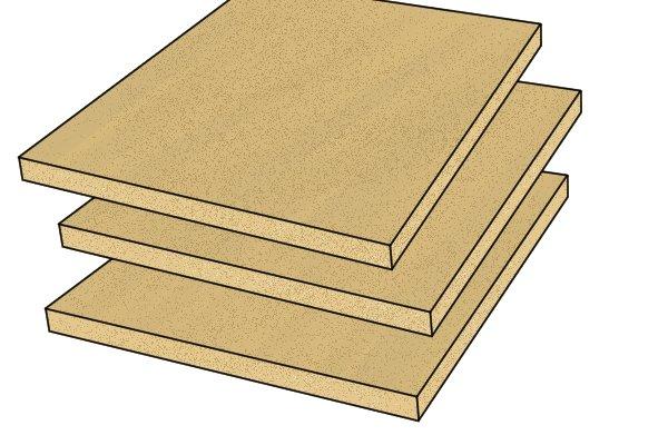 Medium density fibreboard (MDF), softwood, board, wood, timber