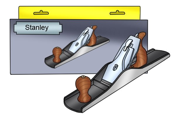 Stanley Bailey bench plane and box