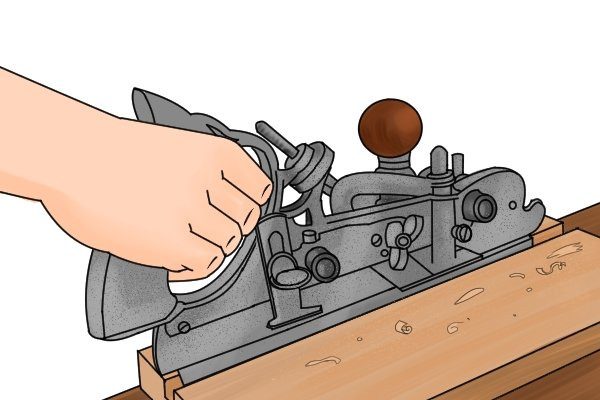Using a Stanley No45 combination plane