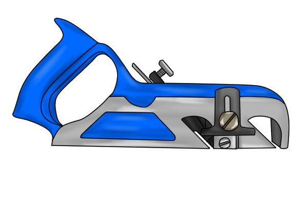 Metal rebate plane, woodworking hand planes