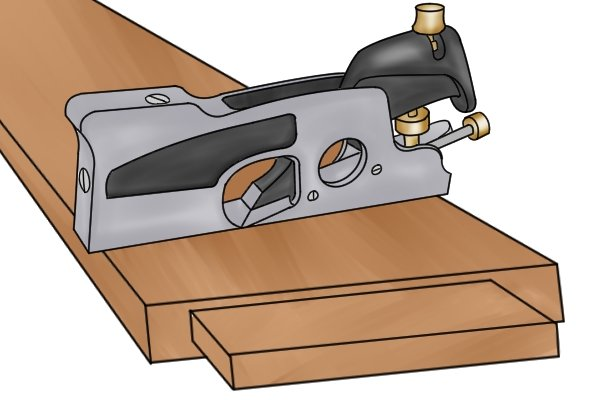 Using a shoulder plane to make a joint fit