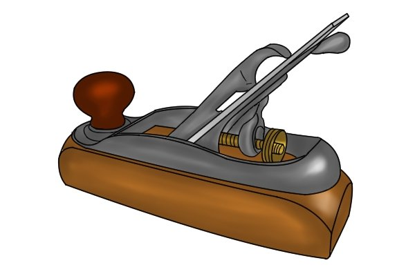 A transitional hand plane