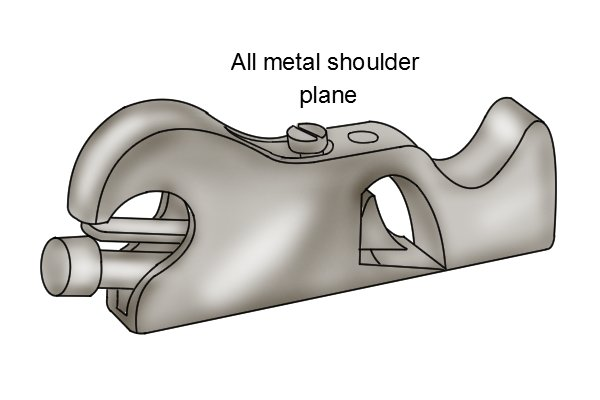 Metal shoulder plane, woodworking hand planes