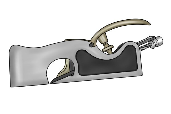 Ductile cast iron shoulder plane