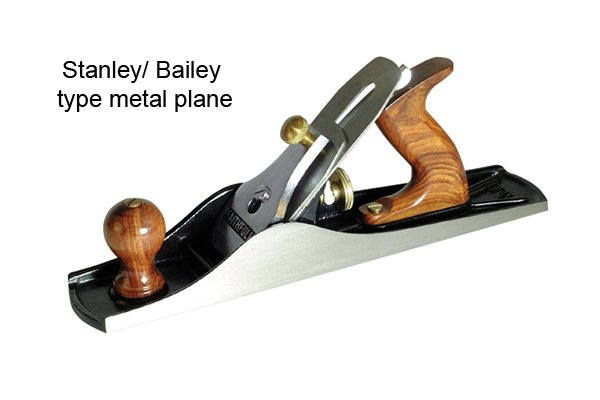 Stanley/Bailey type metal plane; correct pitch for plane irons / blades; woodworking planes