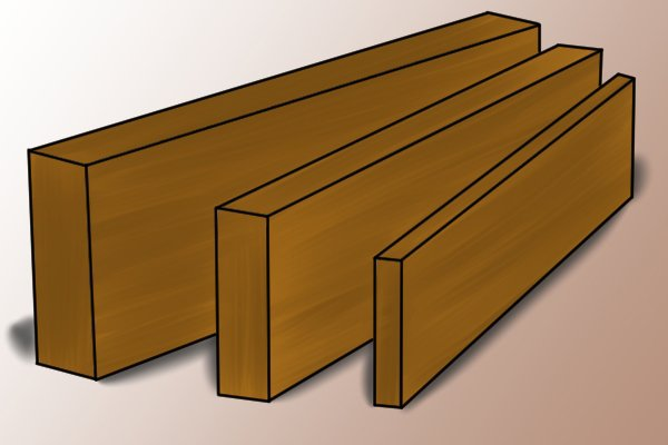 Wood planed all round (PAR)