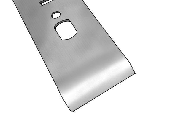 Bench plane chip breaker