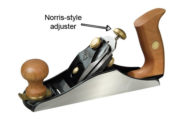 Norris-style iron depth and lateral adjuster