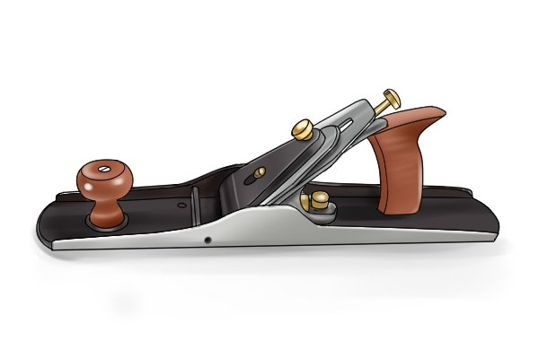 Metal fore plane