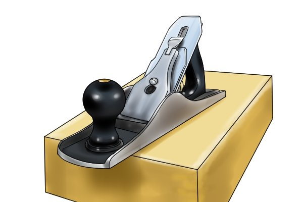 Bench plane staight out of the box