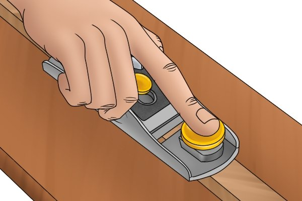 Using a block plane one-handed