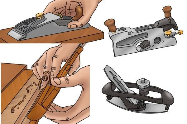 Selection of specialised hand planes