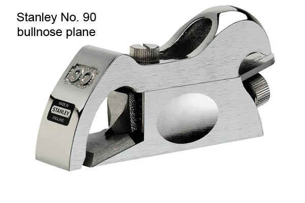 Stanley No 90 bullnose plane; specialised hand planes; woodworking planes