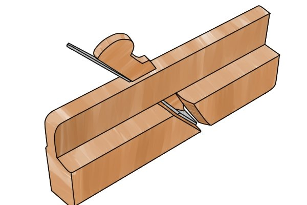 Wooden moulding plane, specialised planes, woodworking hand planes