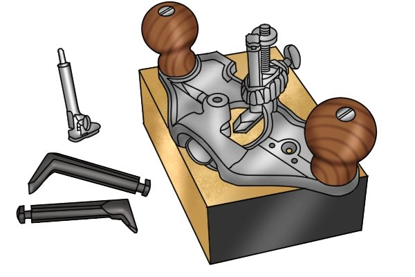Stanley No 71 router plane; specialised planes; woodworking hand planes