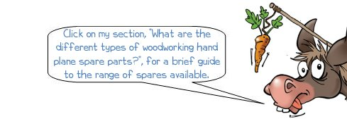 Wonkee Donkee on types of hand plane spare parts
