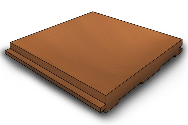 Rebate cut into the side of a piece of wood; rebate planes; woodworking planes