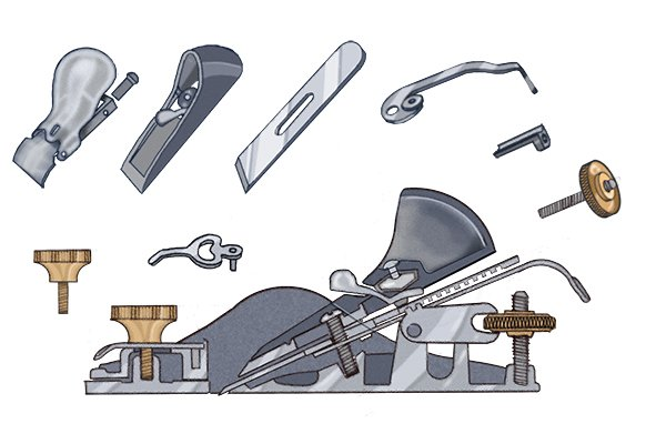 What Are The Parts Of A Metal Block Plane