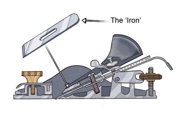 Block plane blade or iron