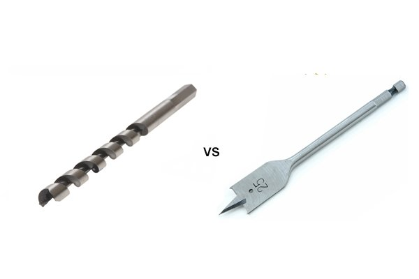 forstner bit vs spade. auger bits vs spade forstner bit