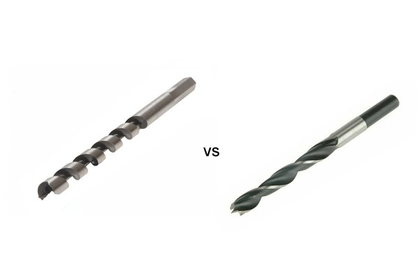 Why would you choose an auger bit over other drill bits?