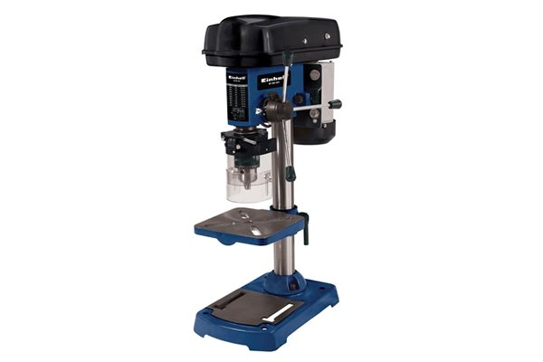 An example of a drill press, which is the ideal driver for a brad point bit