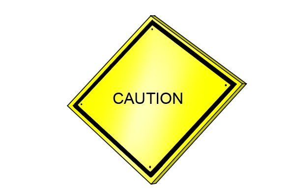 A caution sign to advise that you need to make sure your spoon bit and tapered tenon cutter match if your project is going to be successful
