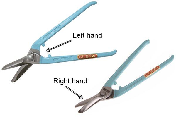 left and rright hand universal tinsnips
