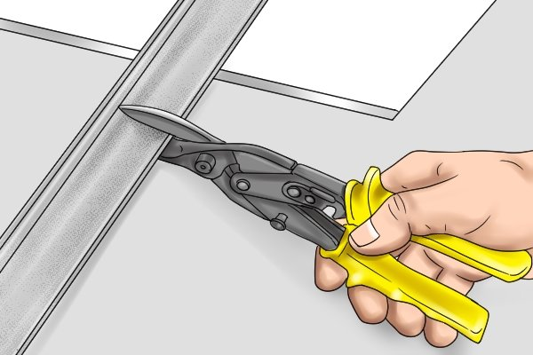 Many home repair jobs couls be made easier with aviaiton snips