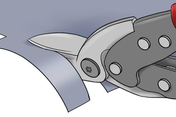 trimming metal