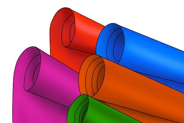 plastic rolls